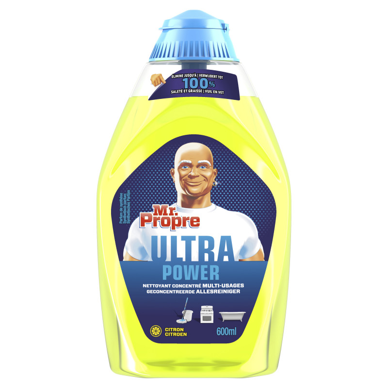 Nettoyant concentré multi usages citron, 600ml