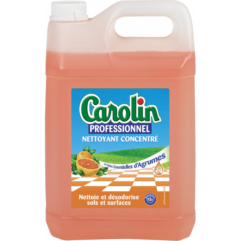 Détergent parfumé CAROLIN professionnel