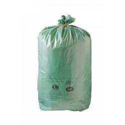 Lot de 200 Sacs vert ecologique 100L