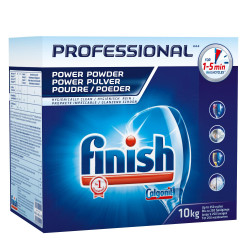 Lessive finish poudre 10 kg