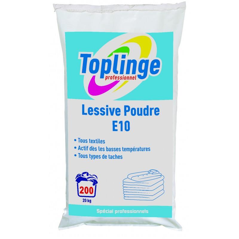 Lessive en poudre  TOPLINGE, sac 20 kg