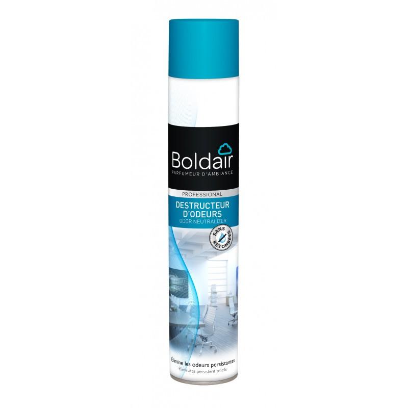 PROMO - Destructeur d'odeurs Boldair - Anti odeurs persistantes- parfum air léger - aérosol de 500 ml
