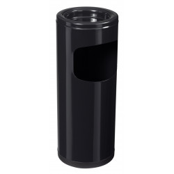 Corbeilles cendrier 12,5L noir