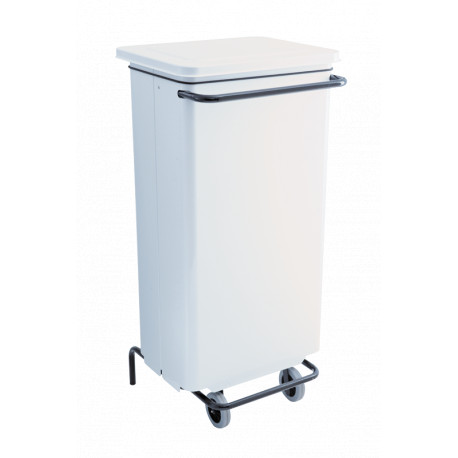 Supports sacs carenes 70L blanc