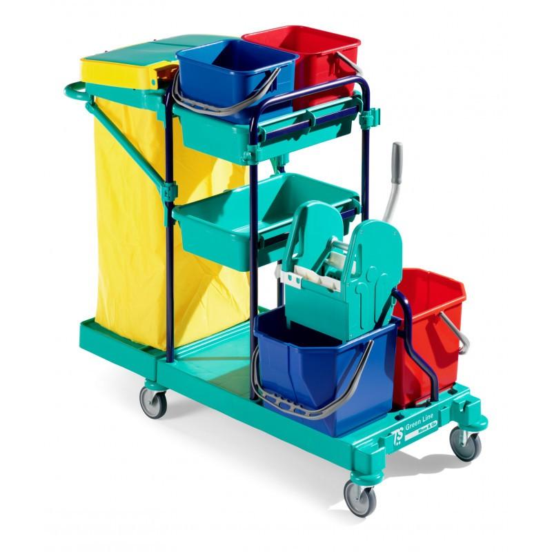 Chariot de ménage Green plus TTS