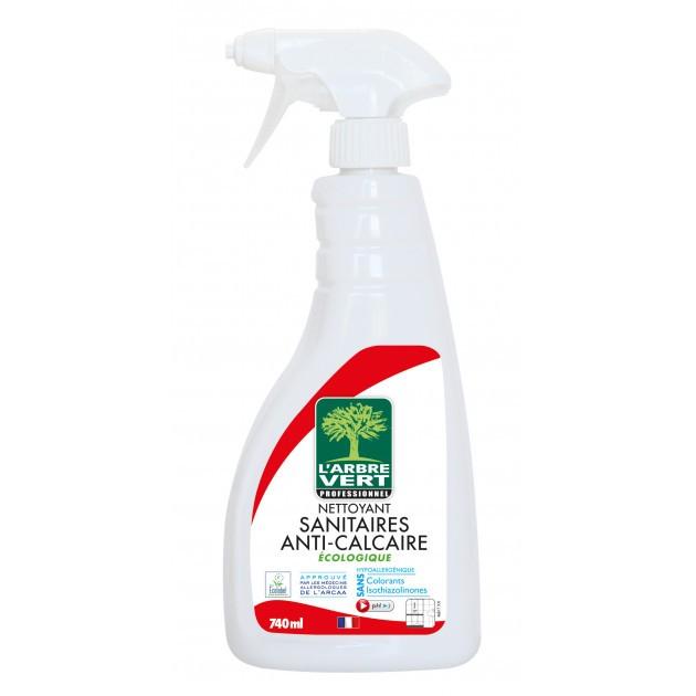 Nettoyant sanitaires anti-calcaire parfum marin Ecolabel L'Arbre Vert