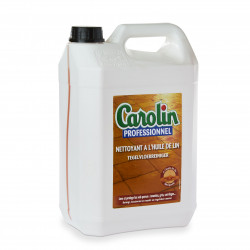 Nettoyant protecteur sol à l'huile de lin bidon de 5 L Carolin