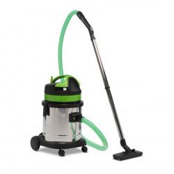 Aspirateur eau et poussière compact 27 L cuve inox ICA GS 1/27