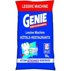 Lessive en poudre mains et machines Génie 18kg