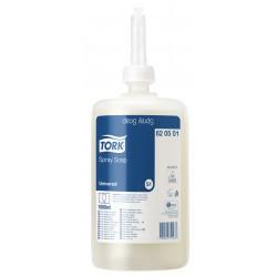 Savon spray transparent parfumé 1 L Tork S11 - lot de 3 cartouches