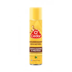 Spray dépoussiérant nourrissant bois 300 ml O Cedar