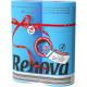 Papier toilette multicolore RENOVA Bleu