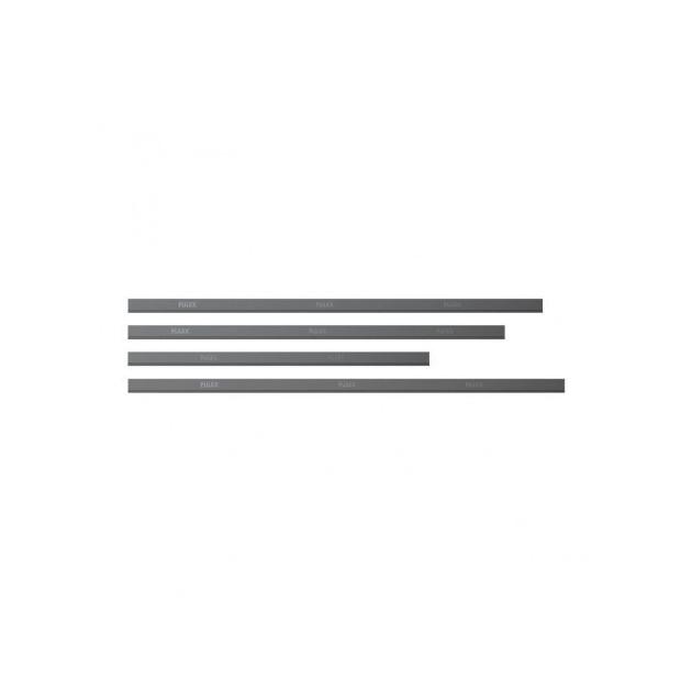 Lame en caoutchouc souple de rechange pour raclette à vitres Pulex - lot de 10