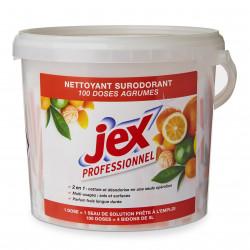 2+1 GRATUIT Boite de 100 doses nettoyantes surodorantes parfum agrumes Jex
