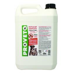 Répulsif liquide chiens et chats -bidon 5 L