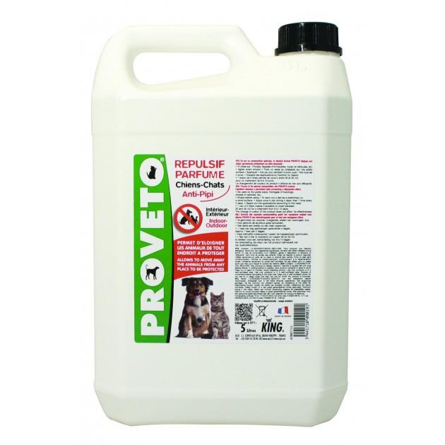 Répulsif liquide chiens et chats - bidon 5 L