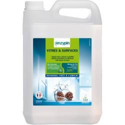 Nettoyant vitres et surfaces sans parfum Enzypin 5L