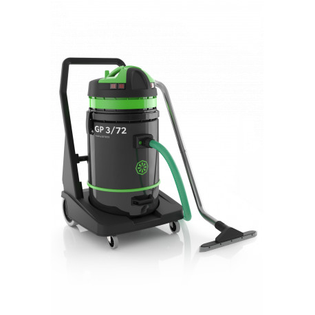 Aspirateur eau et poussière cuve plastique 72 L GP 3/72 ICA