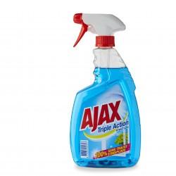 2+1 GRATUIT Nettoyant dégraissant vitres et surfaces parfumé Ajax 750 ml
