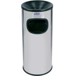Borne cendrier ronde inox 30 L Probbax