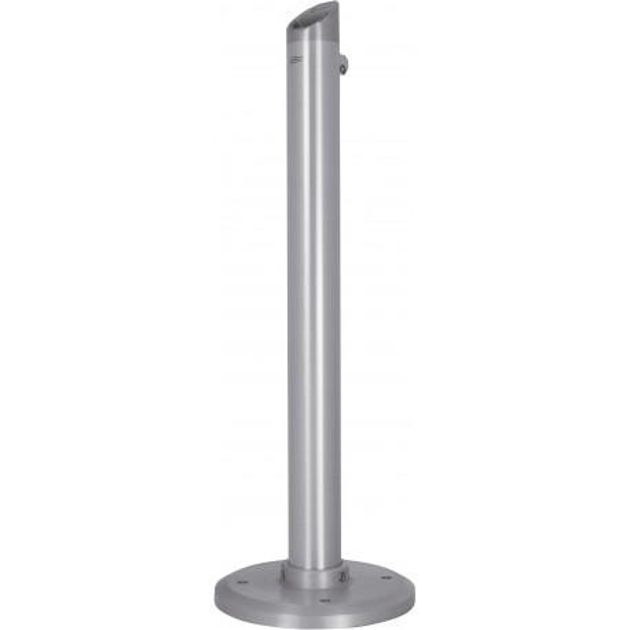 Cendrier sur pied tubulaire aluminium brossé 4,5 L Probbax