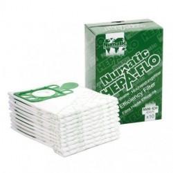 Sacs aspirateur hepaflo 9L Numatic - paquet de 10
