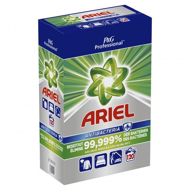 Lessive en poudre ARIEL ANTIBACTERIA 120 doses