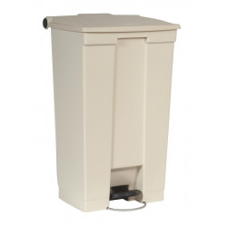 Collecteur 87 L Step-On Classic Rubbermaid- beige