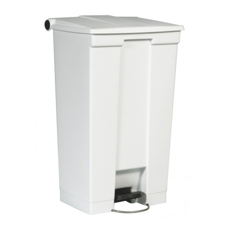 Collecteur 87 L Step-On Classic Rubbermaid- blanc