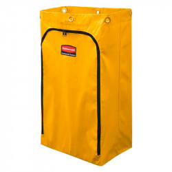 Sac à déchet en vinyle jaune Rubbermaid