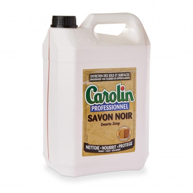 Détergent savon noir liquide Carolin bidon de 5 L