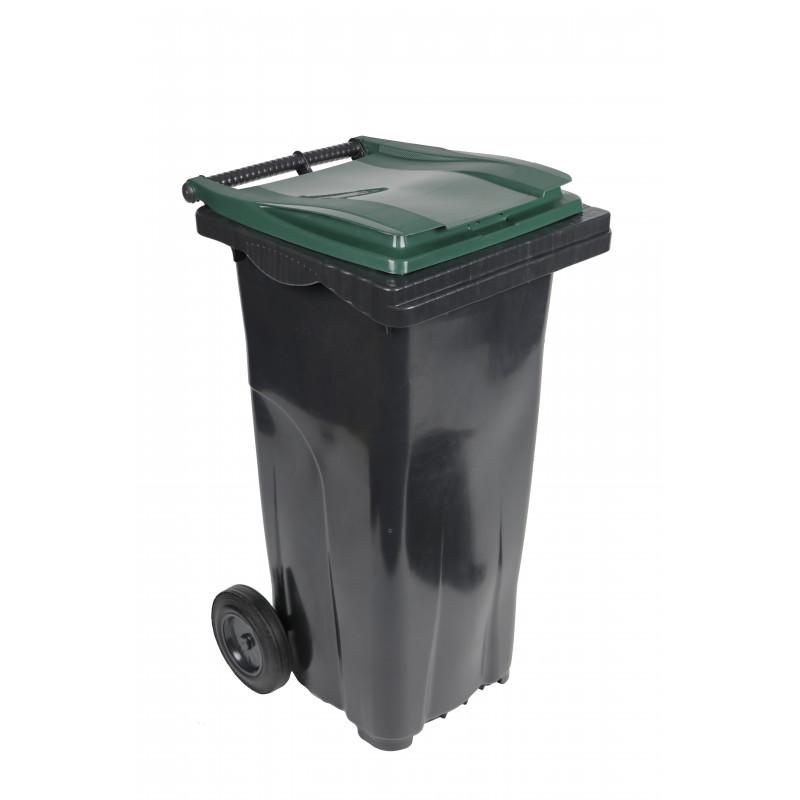 Conteneur poubelle 2 roues Plastic Omnium - 120L