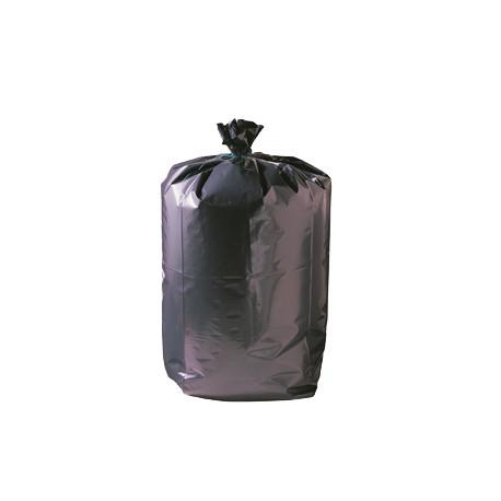 Sac poubelle recyclé noir déchets lourds Delcourt 110 L - carton de  200