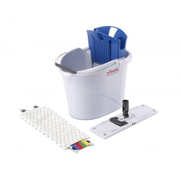 Starter kit UltraSpeed Mini Vileda + manche aluminium