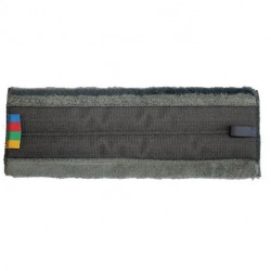 Frange microfibre en velcro Micro zeta 40 cm