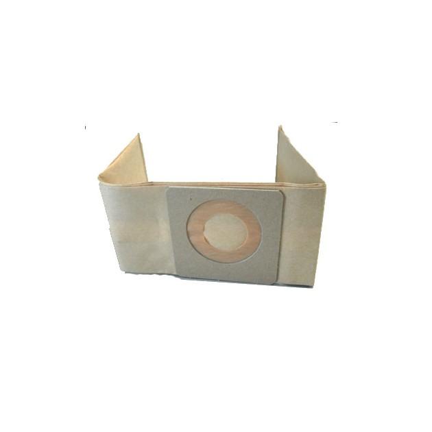 Lot de 10 sacs aspirateur 10 L renforcé en papier pour aspirateur ICA