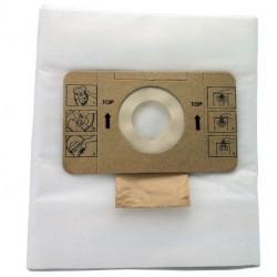 Lot de 10 sacs microfibre pour aspirateur ICA