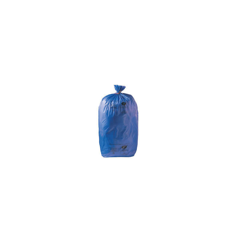 Lot de sacs poubelle de couleur pour le tri sélectif - 110L