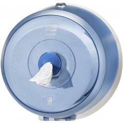 Mini distributeur de papier toilette rouleau SmartOne bleu