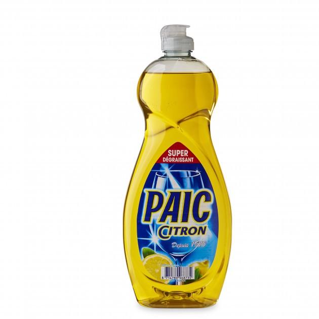 2+1 GRATUIT Liquide vaisselle mains citron 750 ml Paic