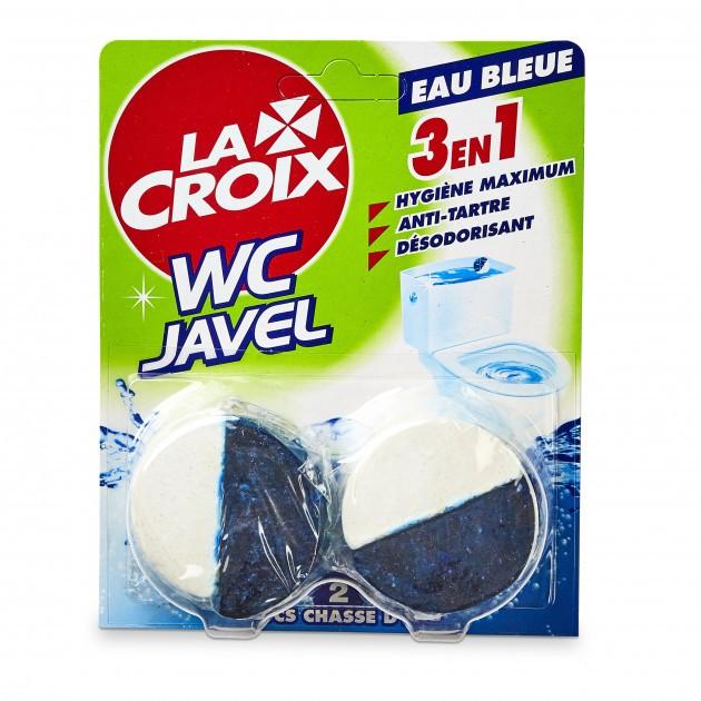 2+1 GRATUIT Bloc de chasse d'eau WC désinfectant La croix - Lot de 6 blocs
