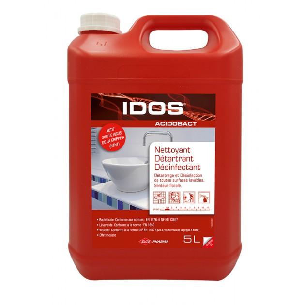 Bidon nettoyant désinfectant ACIDOBACT