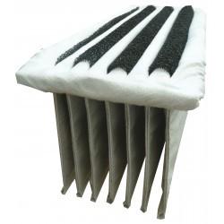 Filtre poussière polyester pour balayeuse ICA