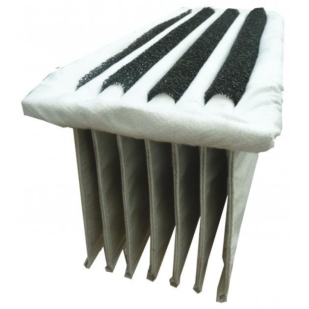 Filtre en polyester pour balayeuse ICA