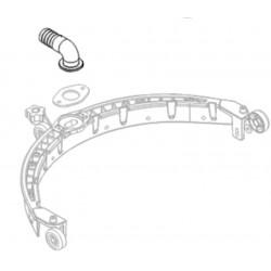 Raccord suceur flexible pour autolaveuse CT15 B/C35