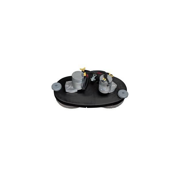 Kit tête de brosse pour autolaveuse CT71 (version 60)