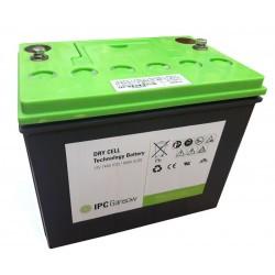 Batterie Gel 12V 76Ah C5 pour autolaveuse CT45 B50 Pack