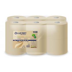 Bobine papier toilette feuille à feuille ECO NATURAL