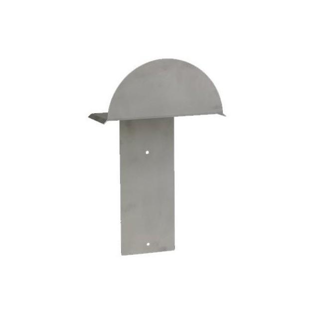 9345 - Support tuyau en acier inox