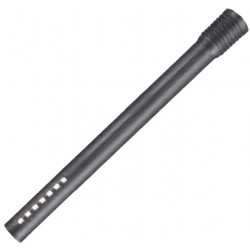 MPVR85407 - Tube droit en polypropylène noir 50cm diamètre 35